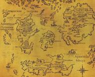 Карта мира Волкодава
